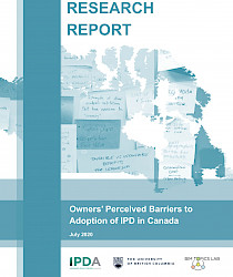 Owners' Perceived Barriers to Adoption of IPD in Canada